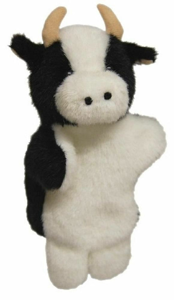 Cow Hand Puppet soft plush toy by Elka - Australia only - Better Buy Now