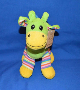 Gabby Giraffe Bright Striped Lime 30cm - Australia only - Better Buy Now