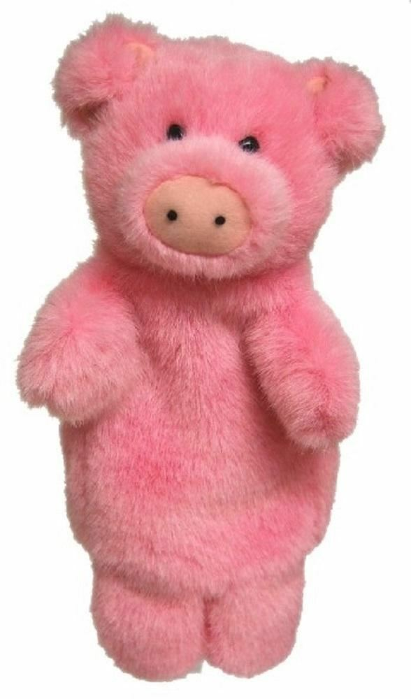 Pig Hand Puppet with sound soft plush toy by Elka - Australia only - Better Buy Now