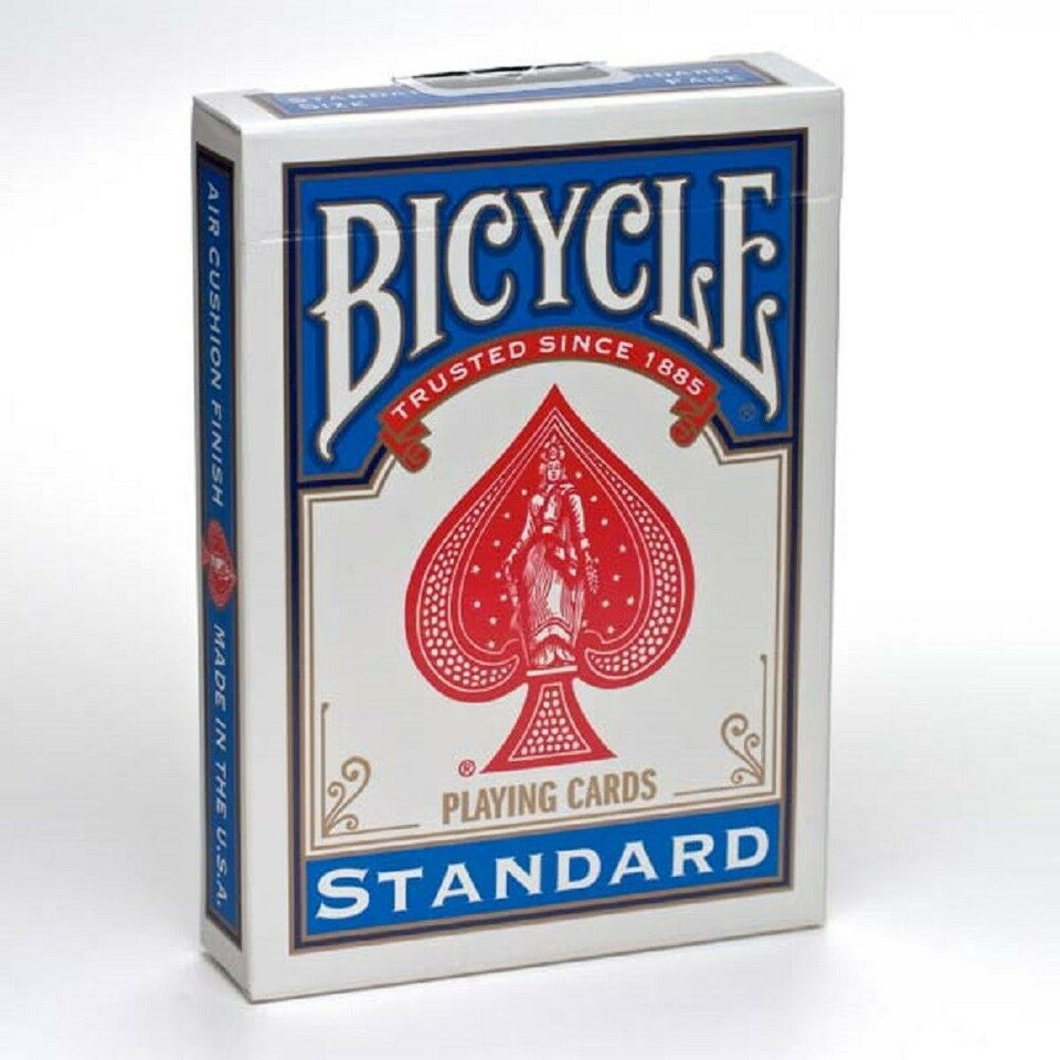 Bicycle Playing Cards Standard DECKS 1 Red & 1 Blue - Made in the U.S. - Australia only - Better Buy Now