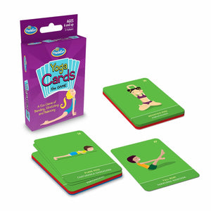 ThinkFun Yoga Cards Game - Junior Games - Australia only - Better Buy Now