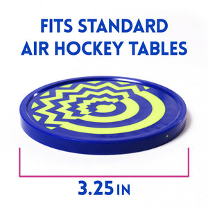 Two Vivid Air Hockey Pucks, 3.25'' brand new pucks that really glow - Australia - Better Buy Now
