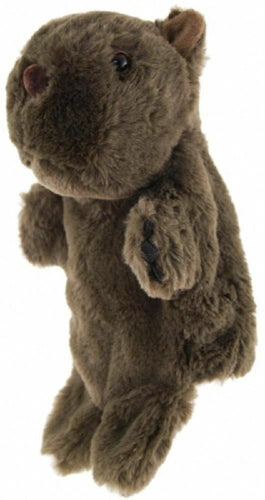 WOMBAT HAND PUPPET soft plush toy by Elka - Australia only