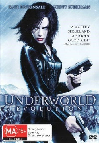 Underworld - Evolution (DVD) - Australia only
