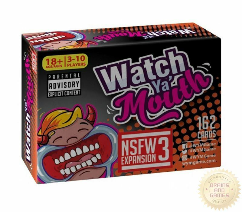 Watch Ya Mouth NSFW Expansion Pack 3 - Australia only - Better Buy Now