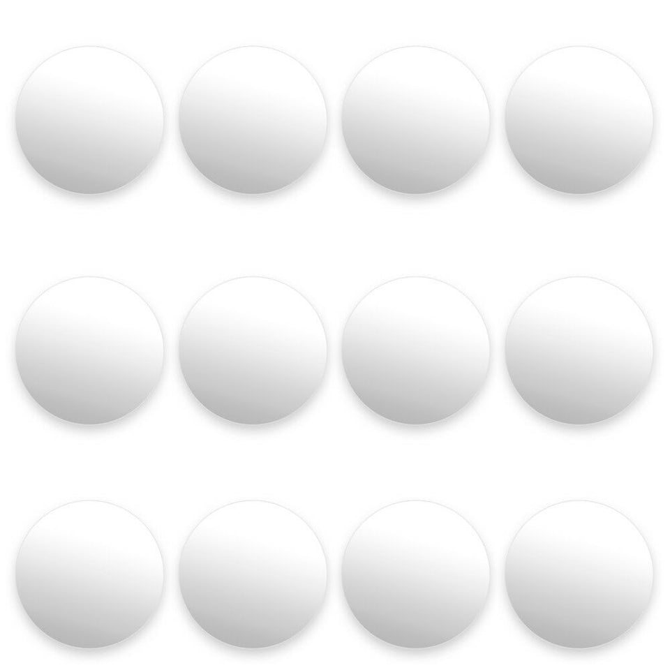 12 Smooth White Foosballs - Australia only - Better Buy Now