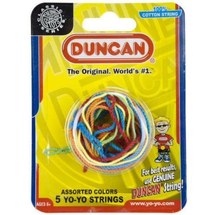 Duncan YoYo Replacement Strings (Five Pack, Assorted Colors) - Australia only - Better Buy Now