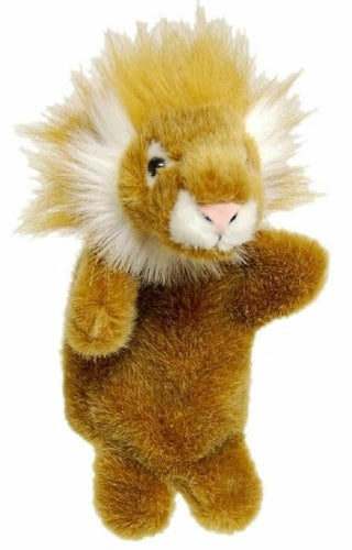 LION HAND PUPPET soft plush toy by Elka - Australia only - Better Buy Now