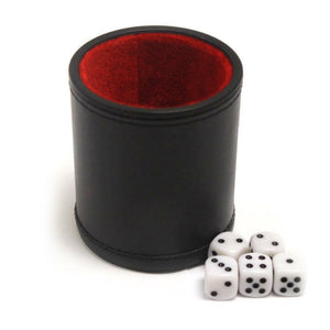 Professional Dice Cup with Five Dice - Australia only - Better Buy Now