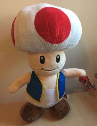 Toad - Stuffed toy - Plush - 35cm - Australia - Better Buy Now