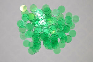200 Pack Green Bingo Chips - Australia only - Better Buy Now