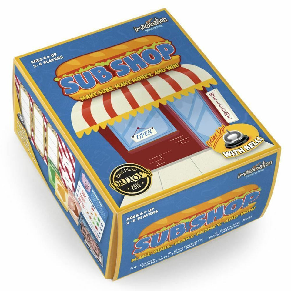 Sub Shop Board Game - minor Box Damage - Discount - Australia only - Better Buy Now