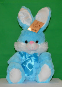 Huggy Bunny Rabbit Blue 25cm  Plush - Australia only - Better Buy Now