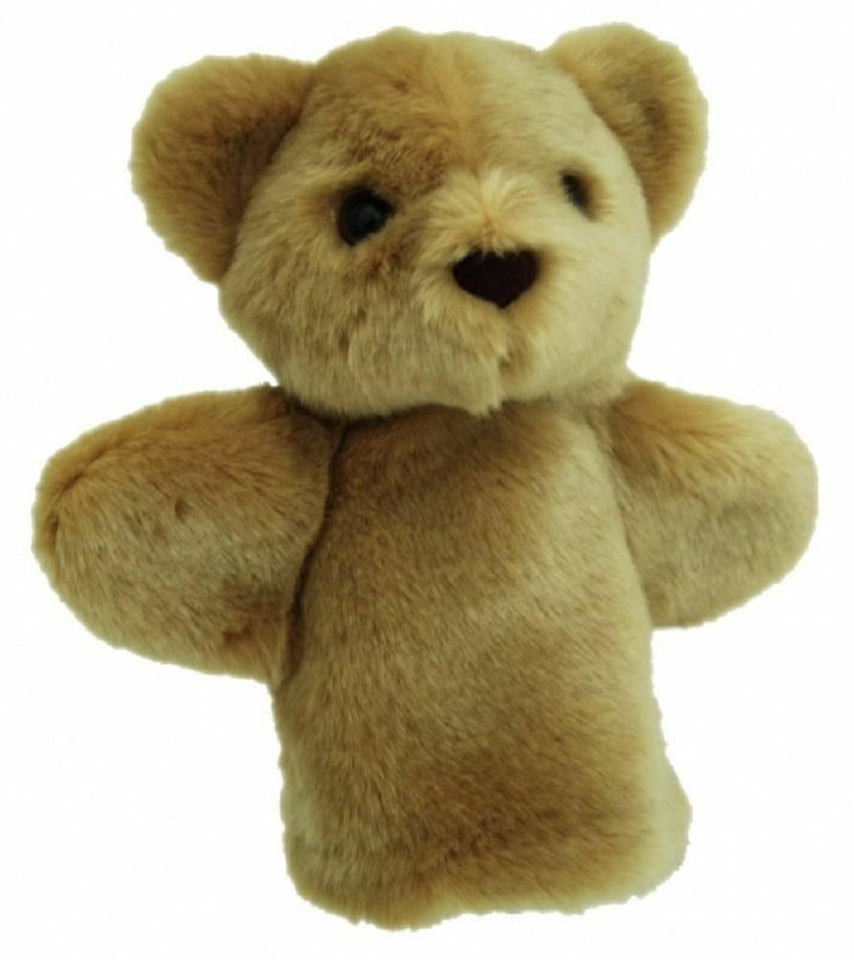 Bear Hand Puppet soft plush toy by Elka - Australia only - Better Buy Now