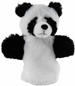 Panda Hand Puppet soft plush toy by Elka - Australia only - Better Buy Now