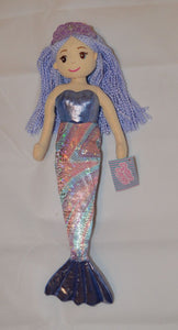 45cm KAYLEE Purple Multi Mermaid - Cotton Candy - Australia only - Better Buy Now