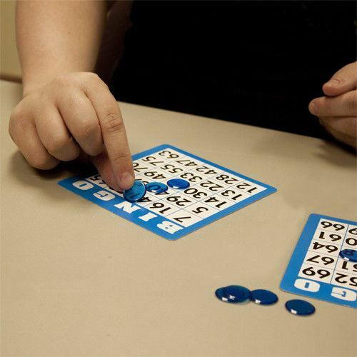 15 Blue Bingo Cards with Jumbo Numbers - Australia only - Better Buy Now