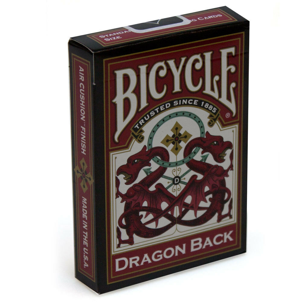 Dragon Back - Bicycle Playing Cards - Australia only - Better Buy Now