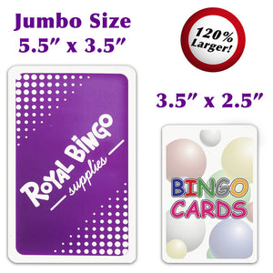 Jumbo Bingo Calling Cards - Australia only - Better Buy Now