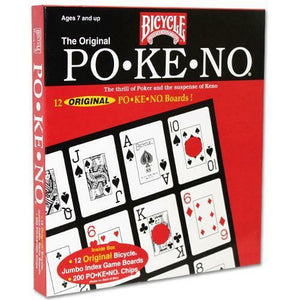 Original Pokeno Game - by Bicycle - Po-Ke-No - Australia only - Better Buy Now