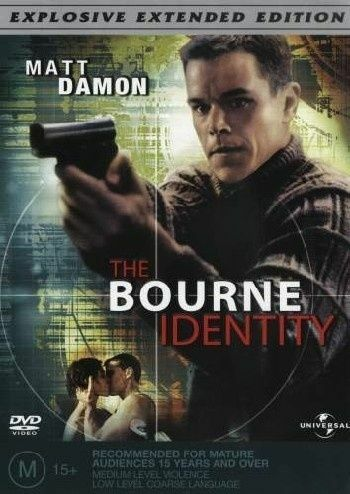 The Bourne Identity (DVD, 2004) - Australia only - Better Buy Now