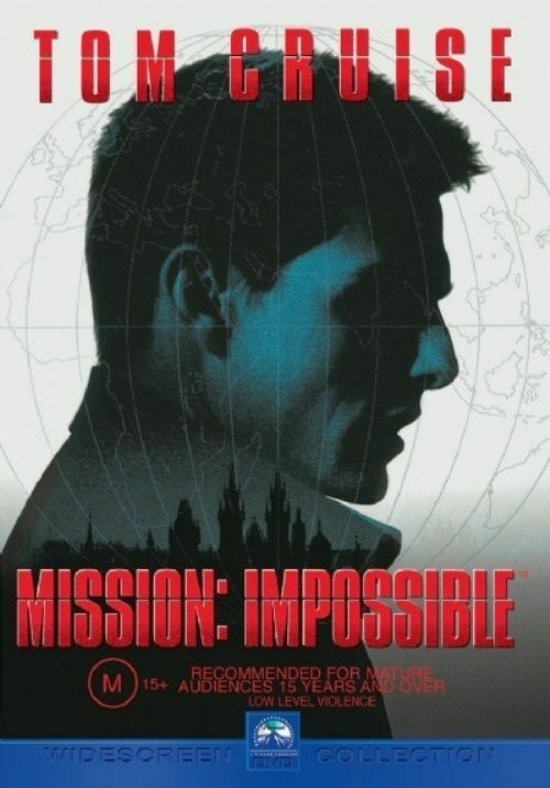 Mission Impossible (DVD, 2001) - Australia only - Better Buy Now
