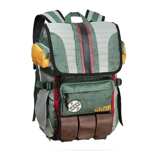 Star Wars Boba Fett Laptop Backpack - Better Buy Now