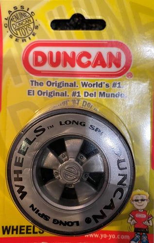 Duncan Wheels Yo-Yo - Grey/Black