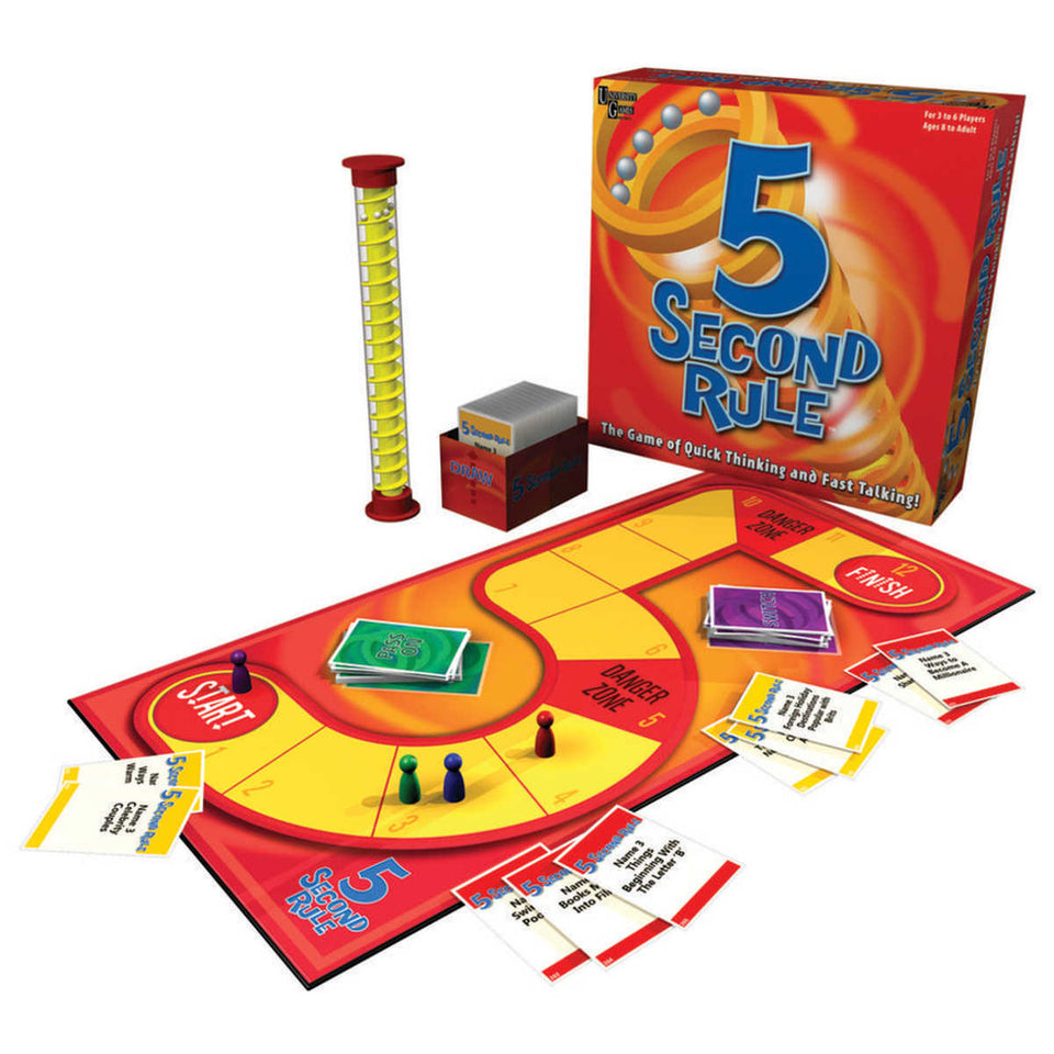 5 Second Rule - Board Game
