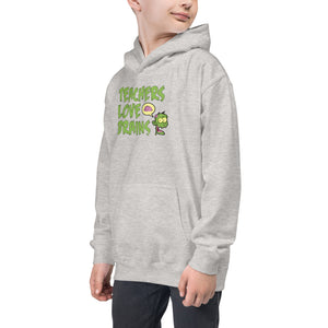 Kids Hoodie - Teachers Love Brains - Better Buy Now
