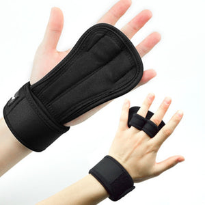 Gym Hand Protector Leather Palm Grips Gloves - Better Buy Now