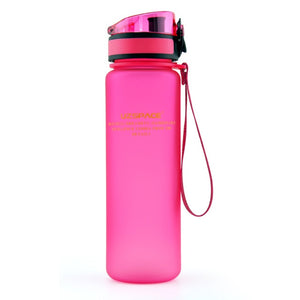 Sport Water Bottles 500/650ML 1L Protein Shaker Outdoor Travel Portable Leakproof Tritan plastic Drink Bottle BPA Free - Better Buy Now