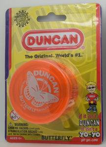Duncan Butterfly Yo-Yo - Orange