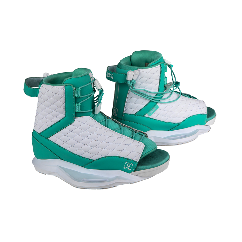 Ronix Luxe Boot - White/Turquoise