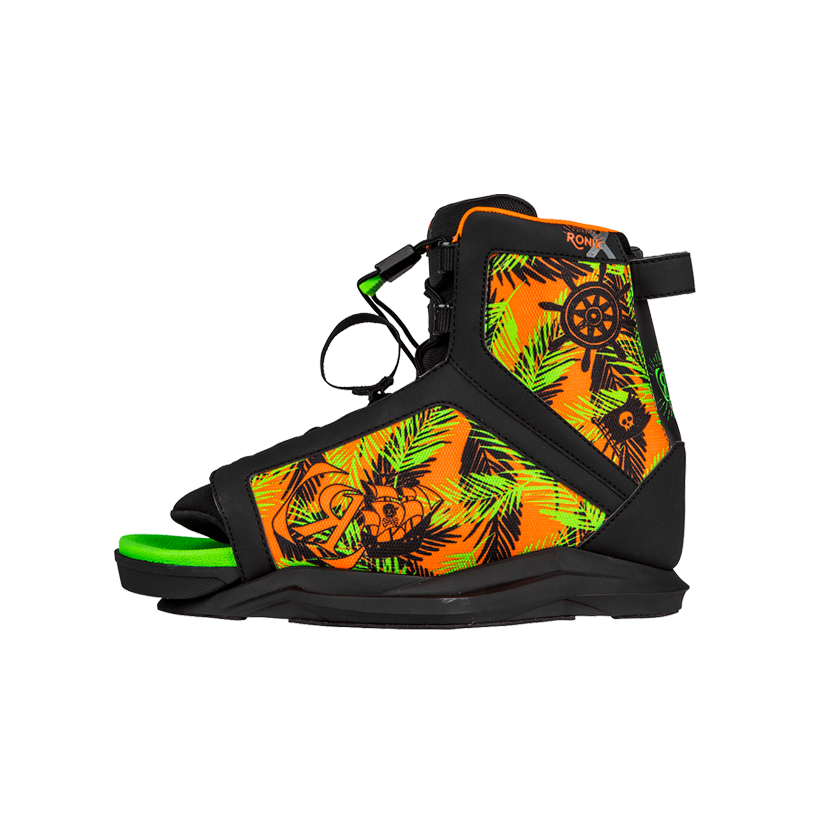 Ronix Vision Boy's Boot - Pirates/Black