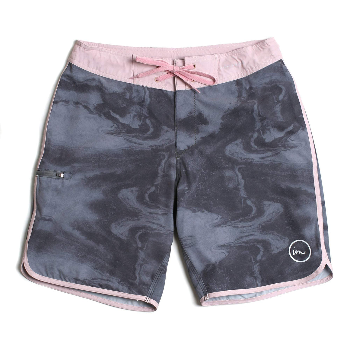 Imperial Motion Carbon Boardshort - Grey Smoke
