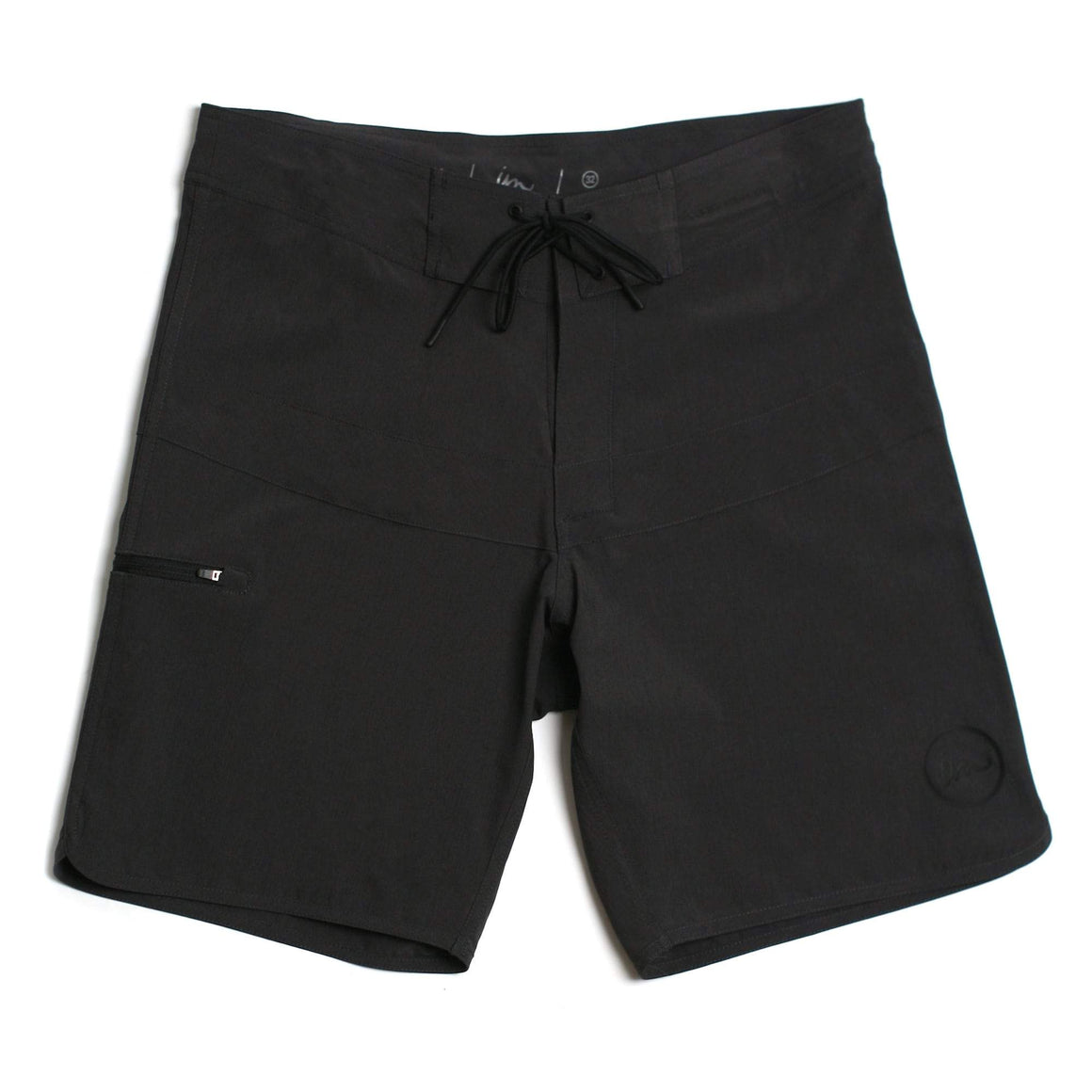 Imperial Motion Hayworth Minimalist Boardshort - Double Black