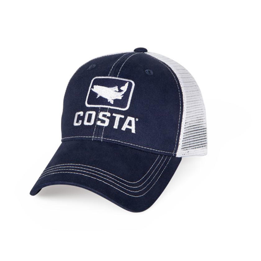 Costa Stealth Bass Hat - Black