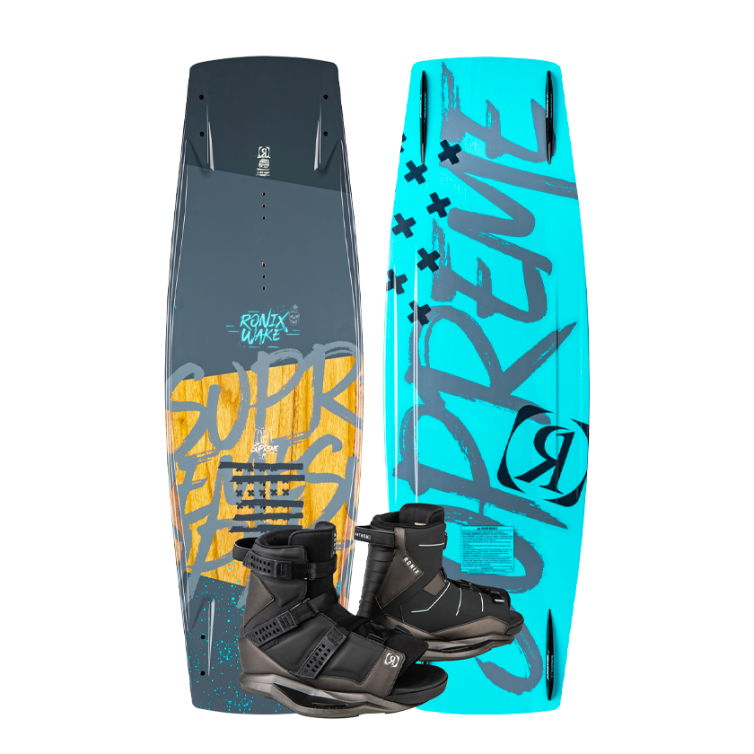 2020 Ronix Men's Supreme W/ Anthem - 141cm - Size 10.5-14.5