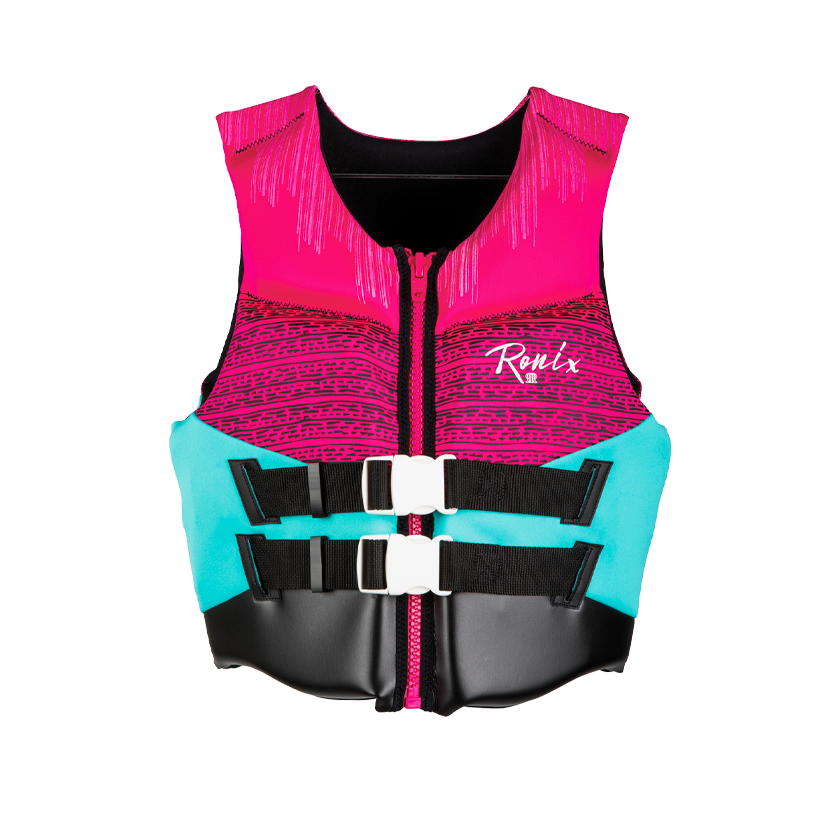 2020 Ronix Daydream Women's - CGA Life Vest - Pink/Turquoise