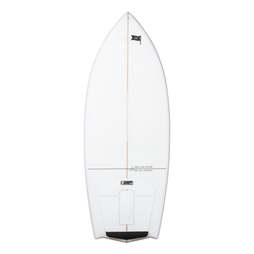 2020 Ronix Flyweight Bat Tail Thruster - Alpine White