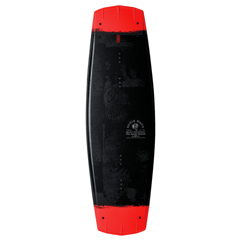 Ronix Parks Modello Edition Board - Black/Caffeinated/Tiger