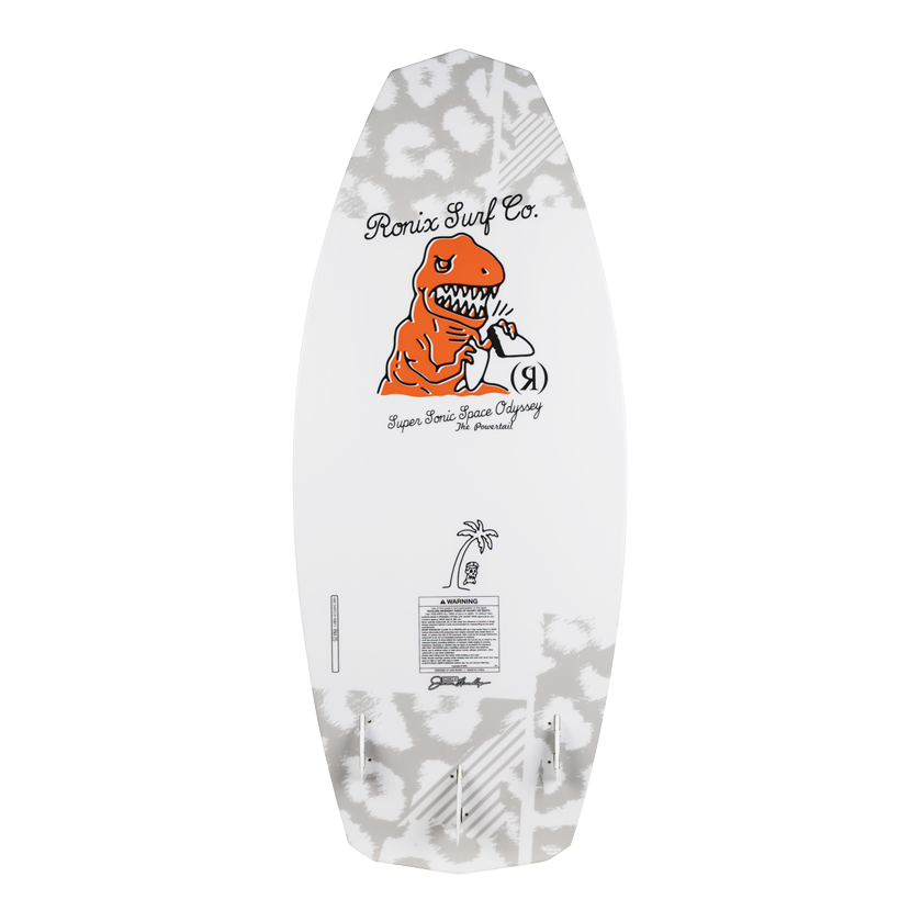 2020 Ronix Super Sonic Space Odyssey - Powertail - White / Orange