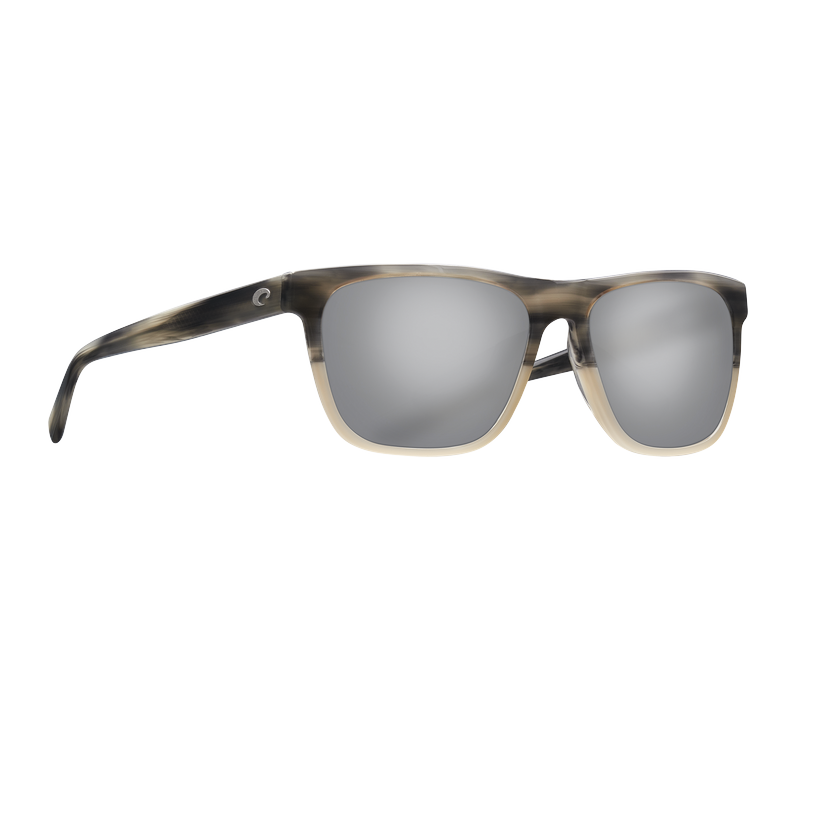 Costa Apalach - Gray Polarized Glass 580 Lens - Shiny Sand Dollar Frame