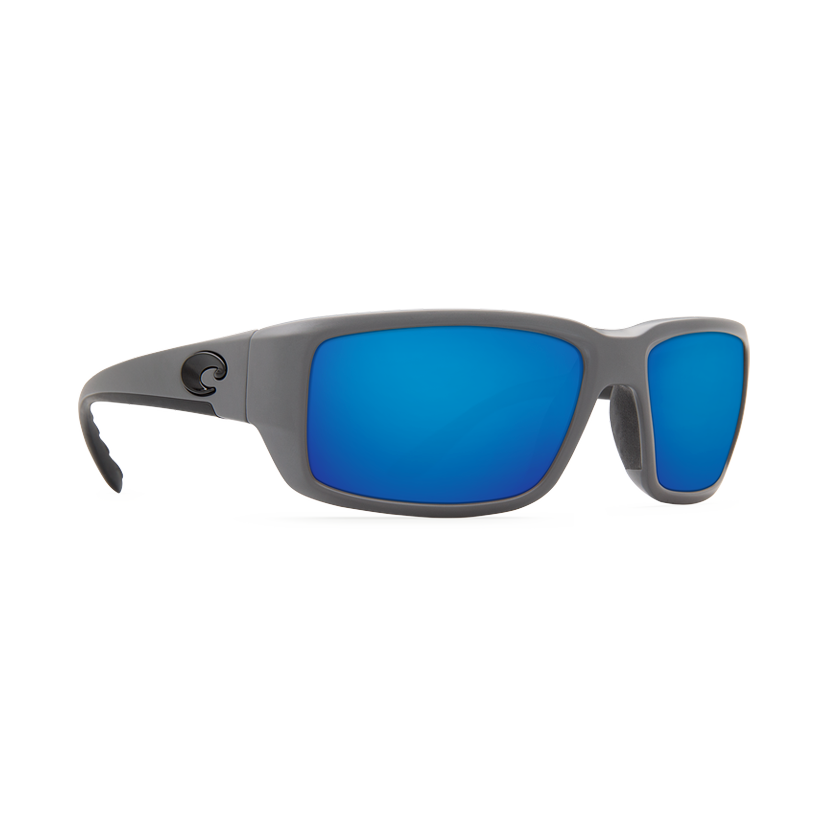 Costa Fantail - Blue Mirror Polarized Polycarbonate 580 Lens - Matte Gray Frame