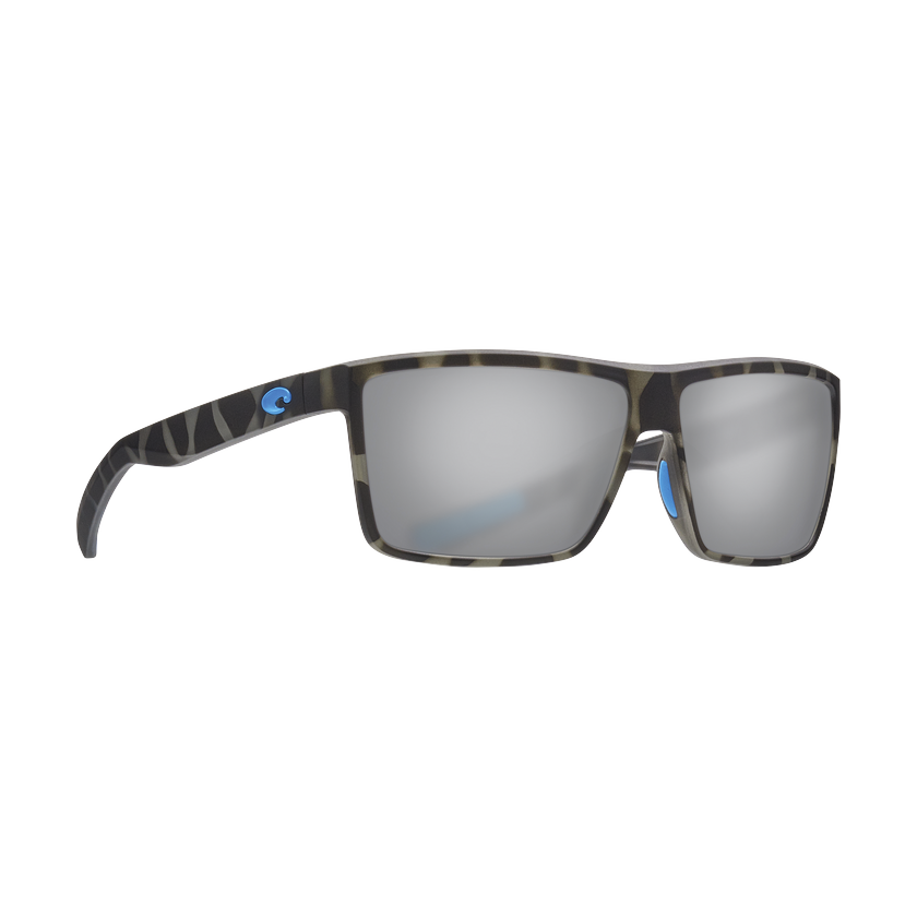 Costa OCEARCH® Rinconcito - Blue Mirror Polarized Glass 580 Lens - Ocearch Matte Tiger Shark Frame