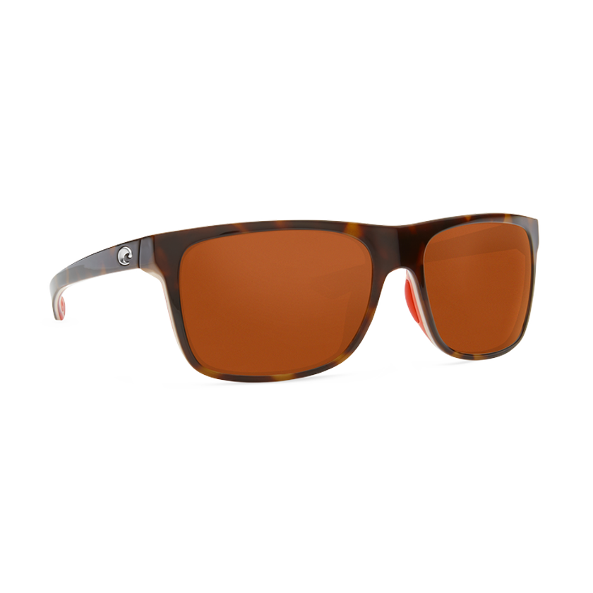 Costa Remora - Copper Polarized Glass 580 Lens - Shiny Tortoise/Hibiscus/Hibiscus Crystal Frame