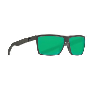 Costa Rinconcito - Green Mirror Polarized Glass 580 Lens - Matte Gray Frame