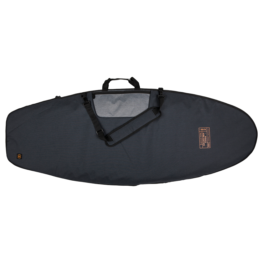 Ronix Dempsey Surf Bag - Heather Charcoal/Orange