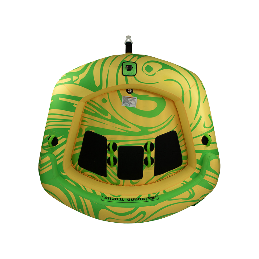 Radar Teacup - Yellow/Green - 3 Person Tube